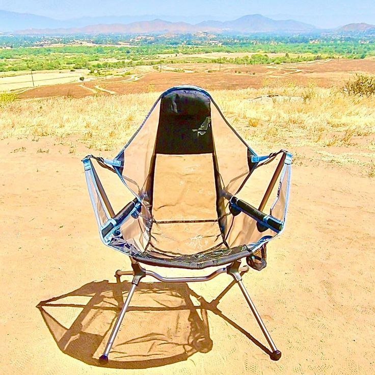Great new camp chair. NEMO Stargaze armchair NEMO