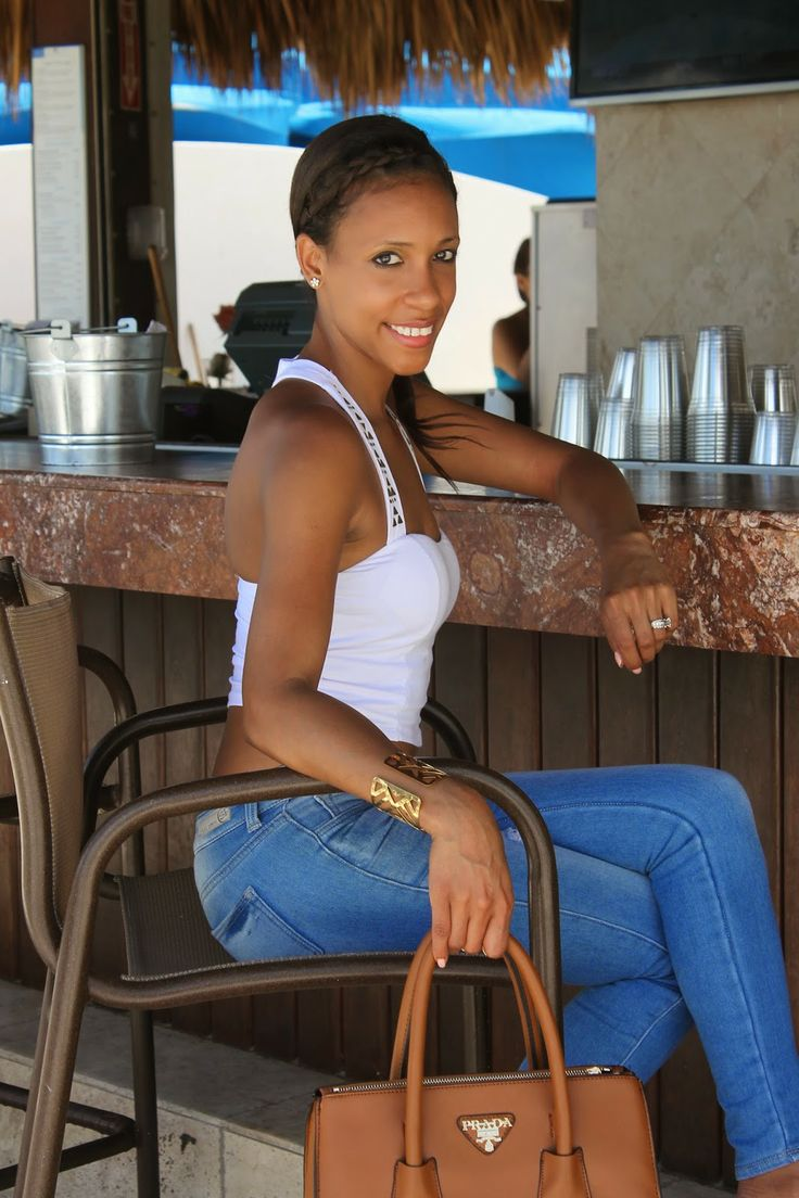 MDollNYC: Dress up in Jeans for a Resort and Spa Day
