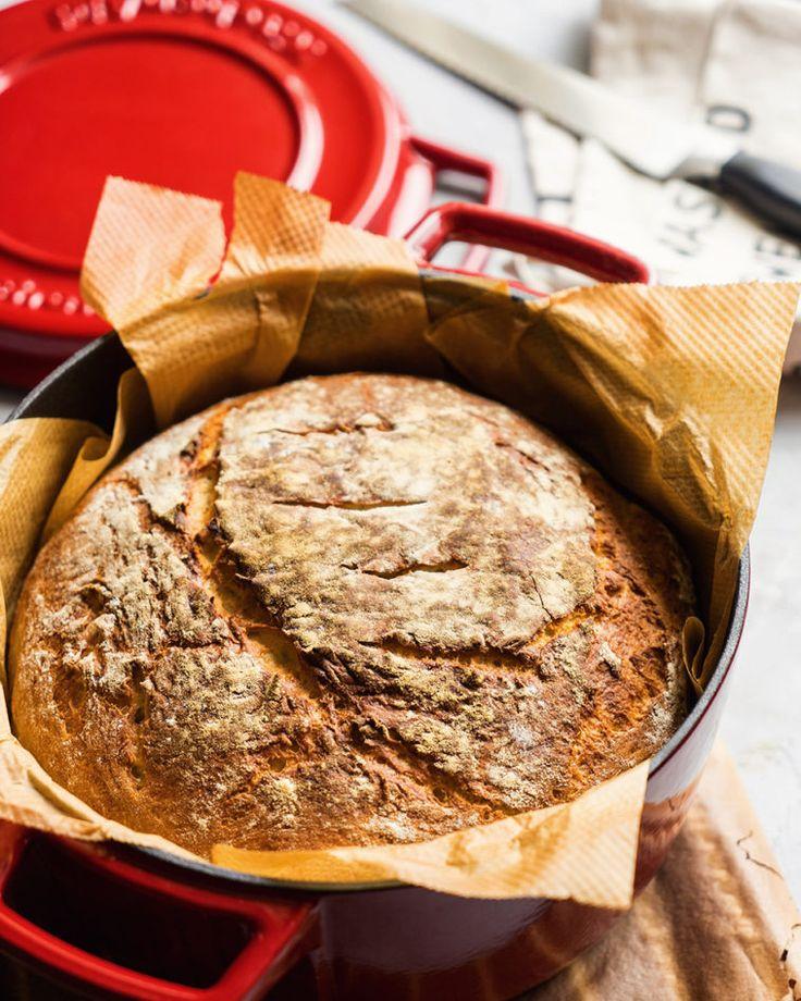 Вкусный хлеб  быстро и просто - ссылка на рецепт - https://recase.org/vkusnyy-hleb-bystro-i-prosto/