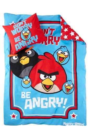 Angry birds påslakan