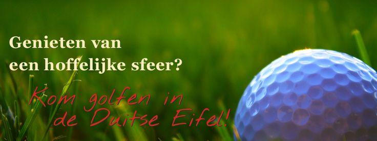 Dankzij de vele golfbanen in de omgeving biedt Der Eifeler Sonnenhof volop mogelijkheden voor de fervente golfspeler. http://eifeler-sonnenhof.com/golfvakantie-duitsland/