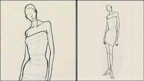 Fashion Art how-to videos - Female Contrapposto Pose