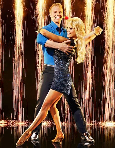Sean Lowe and Peta Murgatroyd on Dancing With the Stars.