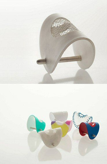 TheCarrotbox.com modern jewellery blog : obsessed with rings // feed your fingers!: Katie Greaves / Sara Shahak