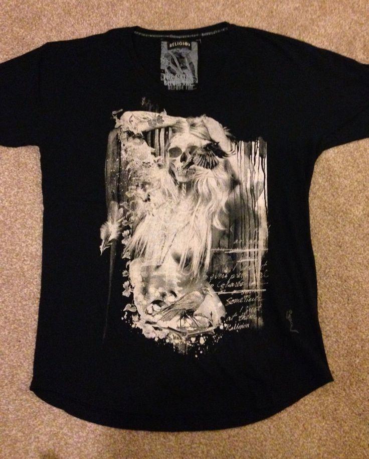 Religion Mens T-Shirt- Large in Vêtements, accessoires, Hommes: vêtements, T-shirts | eBay