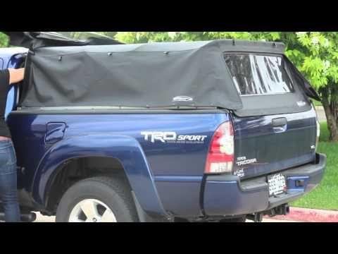 Softopper folding truck canopy