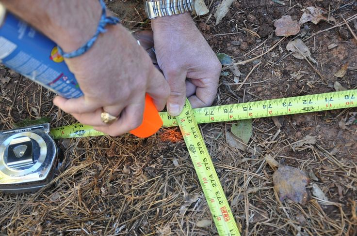 Learn how to layout your deck footings accurately using triangulation with our step by step instructions.
