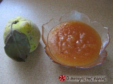 Χριστουγεννιάτικη Μαρμελάδα μήλο - κυδώνι - μανταρίνι