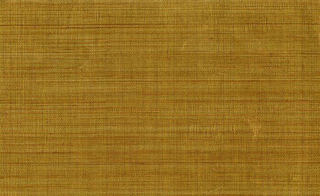 Sample Amwell Grasscloth Wallpaper in Metallic design by Carl Robinson