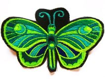 green turquse butterfly - Patch