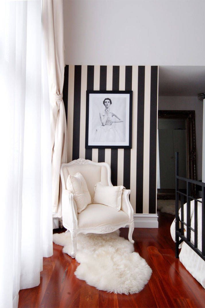 The Chicest Wallpaper Inspiration from Pinterest - Wallpaper Trends 2014 - Harper's BAZAAR
