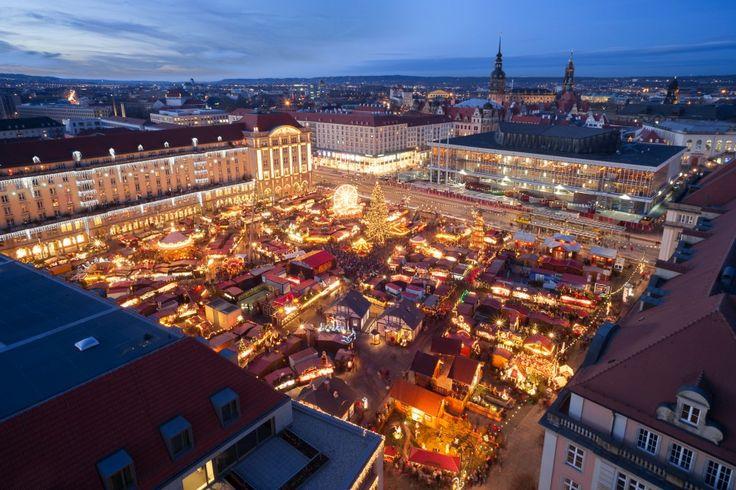 Dresden – Weihnachtsmarkt und Striezel, der Stollen