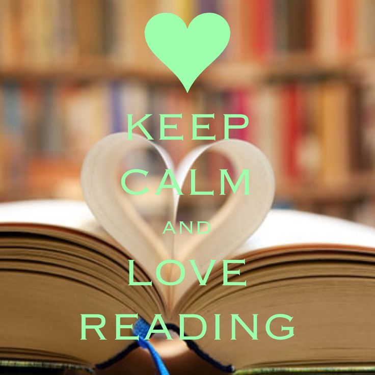 keep calm and love reading / created with Keep Calm and Carry On for iOS #keepcalm #reading