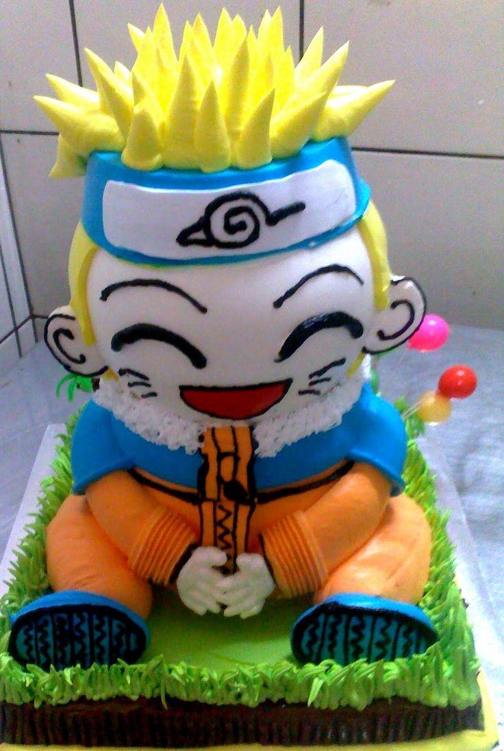 20 best Anime cakes images on Pinterest Anime cake ...