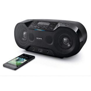 Buy Sony ZSRS70BTB Boombox with DAB Radio and CD Player - Black at Argos.co.uk - Your Online Shop for Personal CD players and cassette playe...