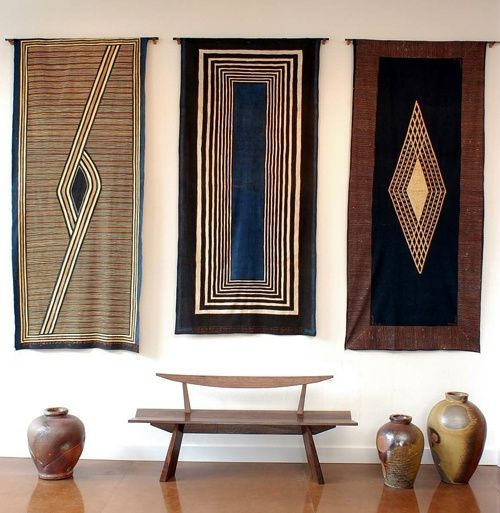 Hang those pretty Indian inspired rugs