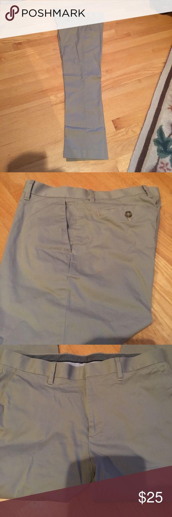 Men's khaki pants Men's MURANO  tan khakis, modern fit, 30 in length. NWOT Willing to deal on bundles. Murano Pants Chinos & Khakis