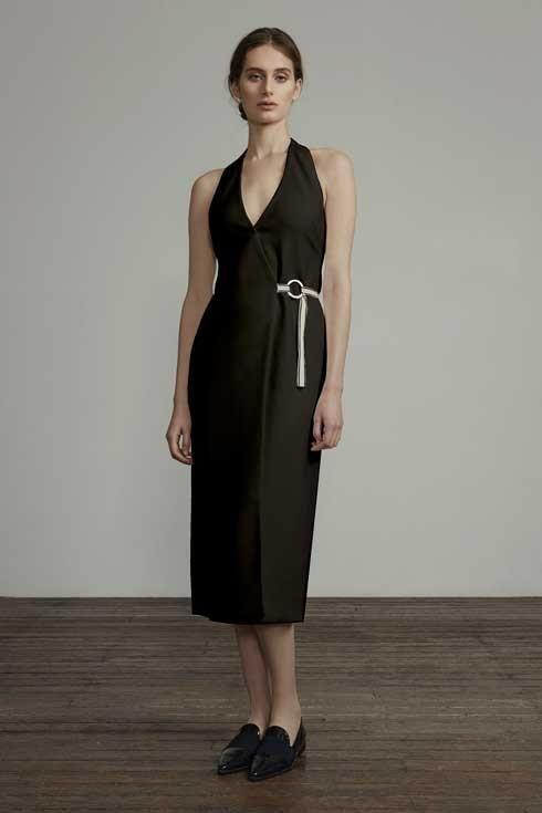 ANNA QUAN - the Treble dress (black)