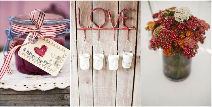 Geléia homemade com tag personalizada: não tem como os convidados não amarem! Casamentos únicos: inspiração rústica em vermelho | Paperland & Co.