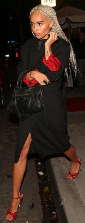 Balenciaga Handbag - Zoe Kravitz