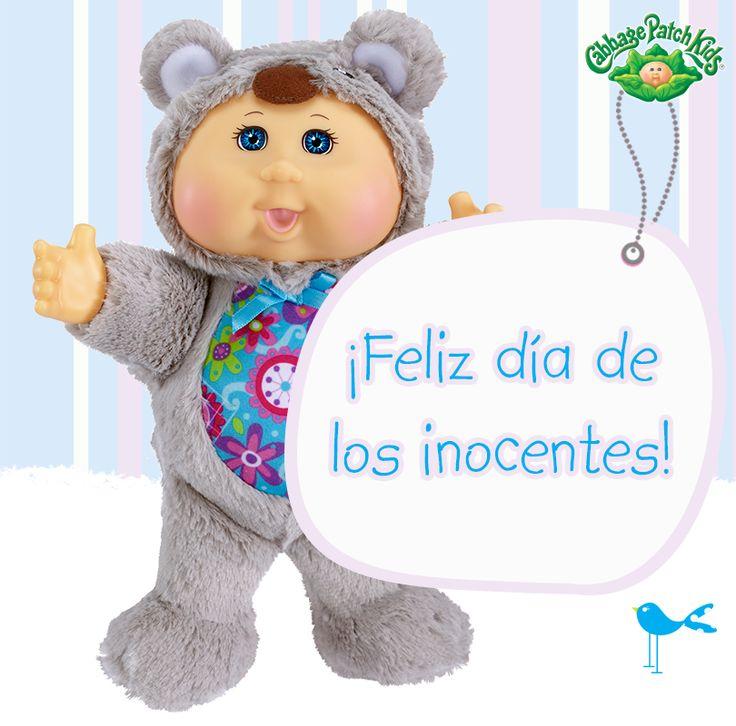 ¡Feliz día de los inocentes! #cabbagepatch #cabbagepatchkids #sketchers #muñeca #niñas #abrazo #palaciodehierro #liverpool #comercialmexicana #walmart #soriana #sears #chedraui #coppel #juguetron #HEB #kids