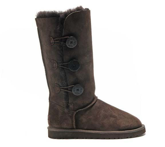 UGG Triplet Tall Boots 1873 Chocolate $89.38