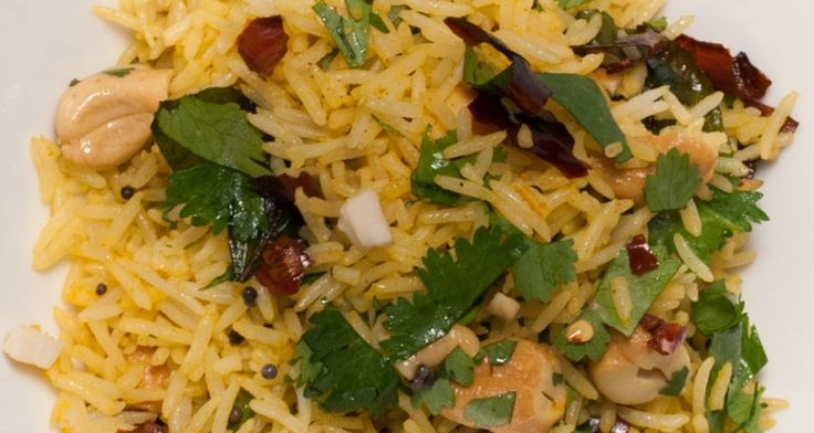 Lemon Rice - Indian http://gustotv.com/recipes/sides/lemon-rice-2/