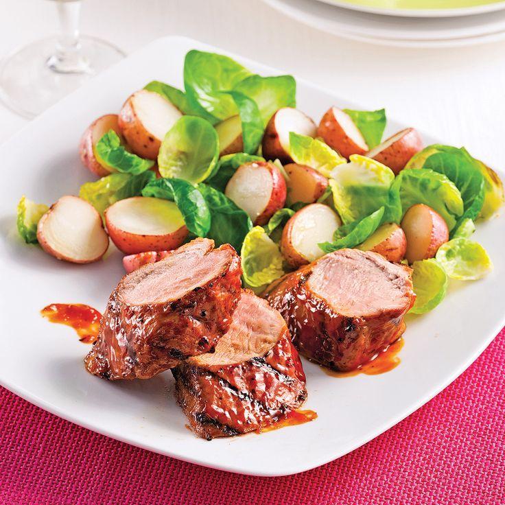 Filet de porc style ribs