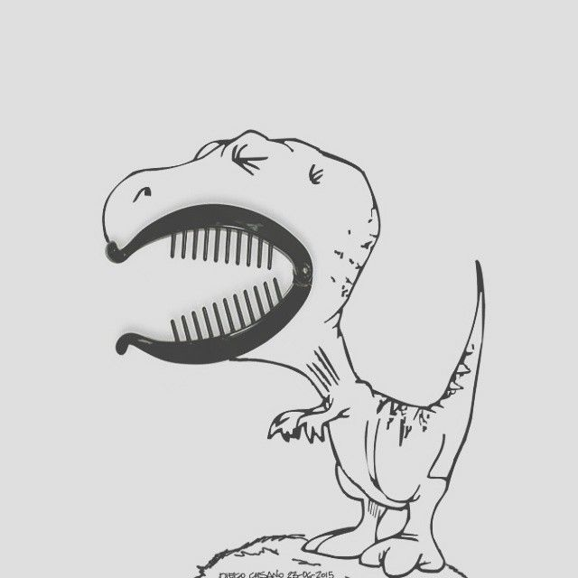 #buongiorno #sognatori  Mi sveglio e realizzo che siamo più di 11k #sognatori ! E quindi per ringraziarvi, dato che sono arrivato terzo agli #igersawards2015, pubblicherò ogni 3 ore una nuova illustrazione!  Grazie di cuore a tutti!  Kiss  #dinosauro #jurrasicworld #fermagliopercapelli #baby #cucciolo