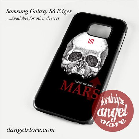 30 seconds to mars skull logo Phone Case for Samsung Galaxy S3/S4/S5/S6/S6 Edge