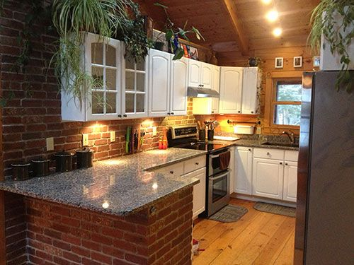 Thin Brick In 500 375 Pixels Interior Design Pinterest In Kitchen Get The Job