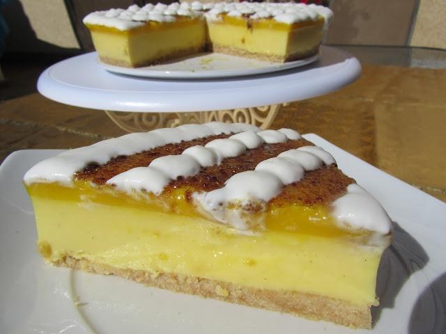 La Juani de Ana Sevilla: Tarta de crema de San José y yema
