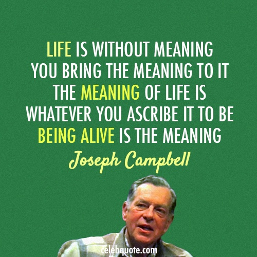 the definition of a myth according to joseph campbell Joseph campbell & the power of myth — mythology of the hero's journey throughout world religions and the arts, even star wars (pbs series with bill moyers).