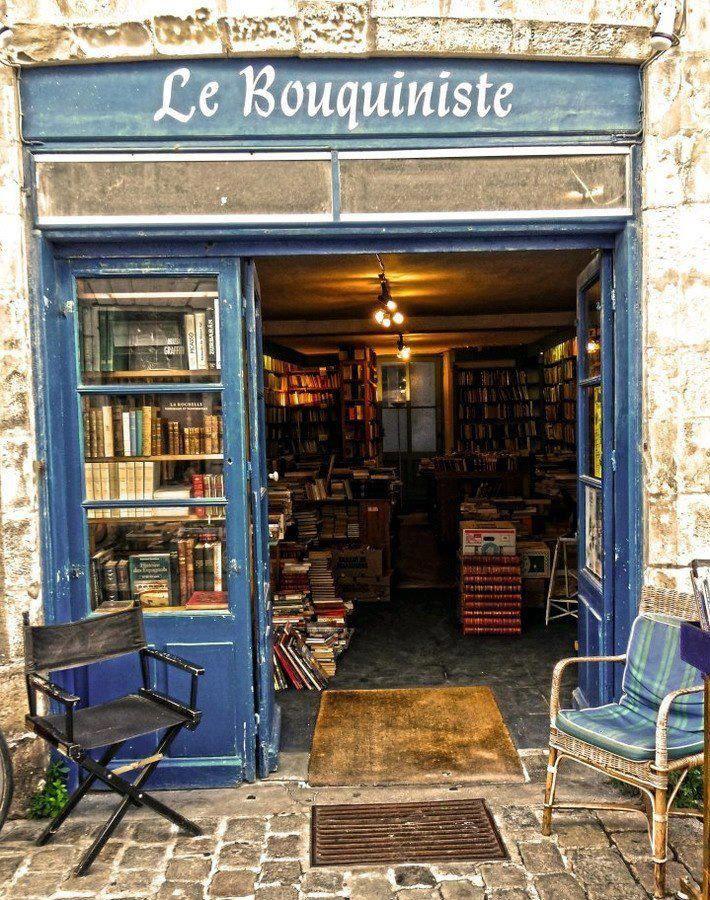 Book Store, Paris, France photo via jaci