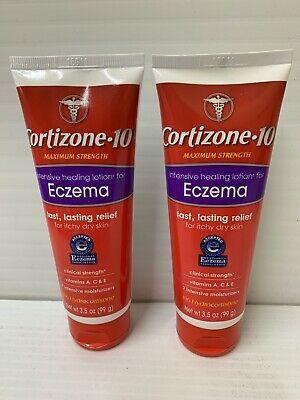 Ad Cortizone 10 Lotion Intensive Healing Eczema Lotion 3 5oz 2