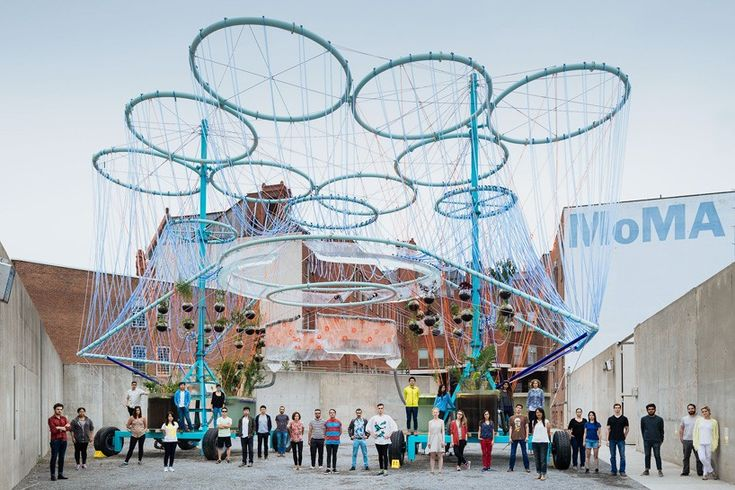 MoMA PS1 young architects program 2015 andres jaque COSMO designboom