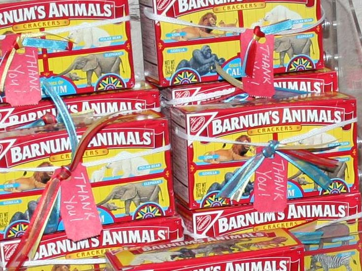 Animal Crackers. This is my comfort food.