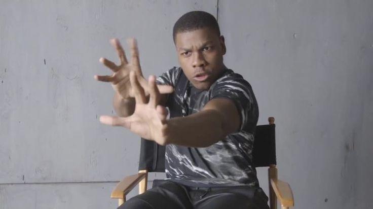 John Boyega Tells GQ Every Single Thing That Happens in the New Star Wars on video.gq.com