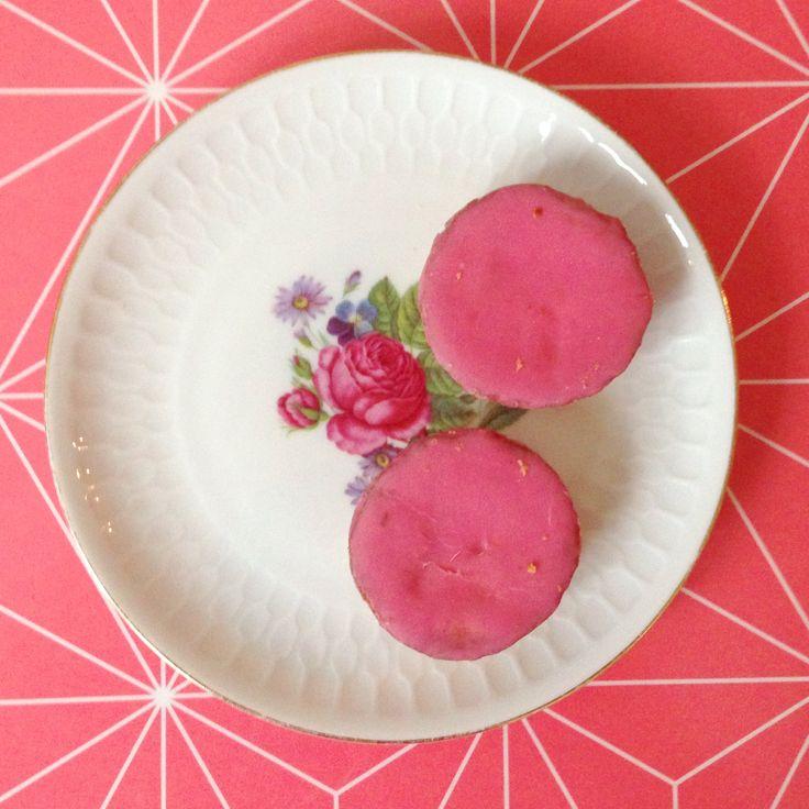 Roze koek liefde