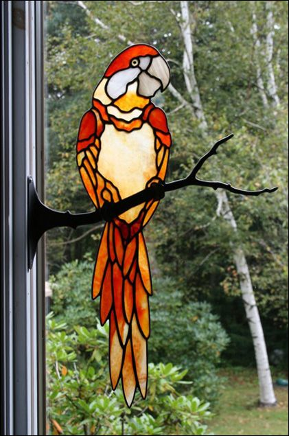621 best stained glass animal 1 images on pinterest stained stained glass birds by chippaway art glass solutioingenieria Images