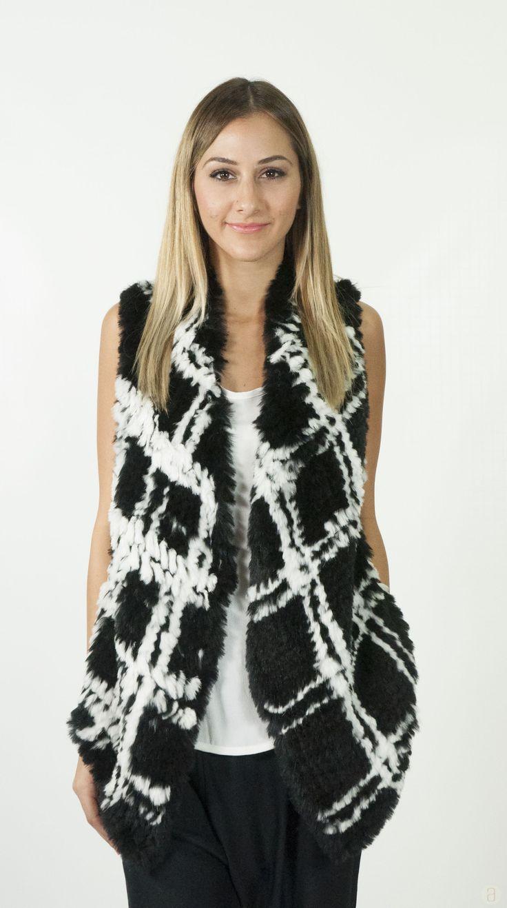 elliatt fur vest from Azealia boutique