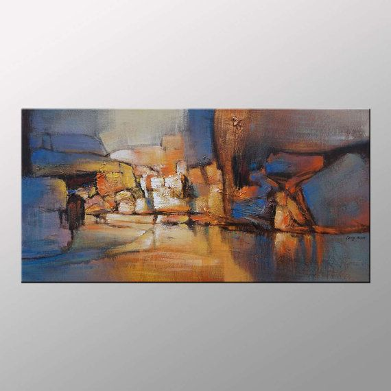 Art Painting  Abstract Art Canvas Art by GeorgeMillerArt on Etsy