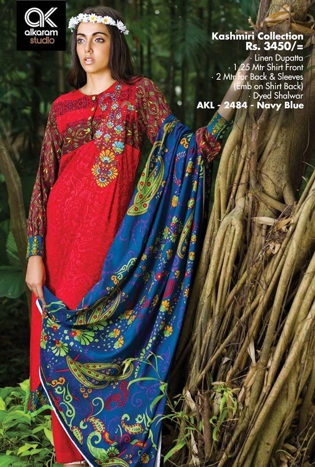 At ksabih.com - AlKaram Winter Vol 1 Custom Stitching on your own Sizes Limited Stock Available in Affordable Prices Buy now : http://goo.gl/tEPjrG