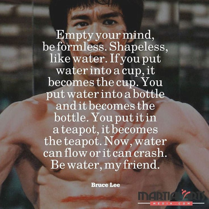 #Inspiring reminder from one of the most #iconic #martialarts experts who elevated the popularity of the #combat practice in the world @brucelee. #inspiration #motivation #brucelee #bjj #jiujitsu #brazlianjiujitsu #karate #muaythai #kravmaga by martialartsmedia