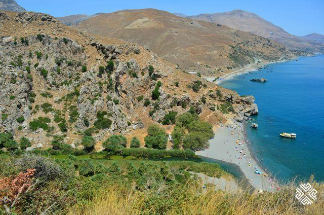 Preveli Beach #Crete #passionforgreece #greece