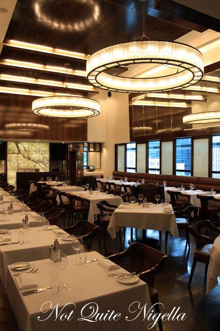 Inside Peter Gordon's Fine Dining restaurant, Auckland
