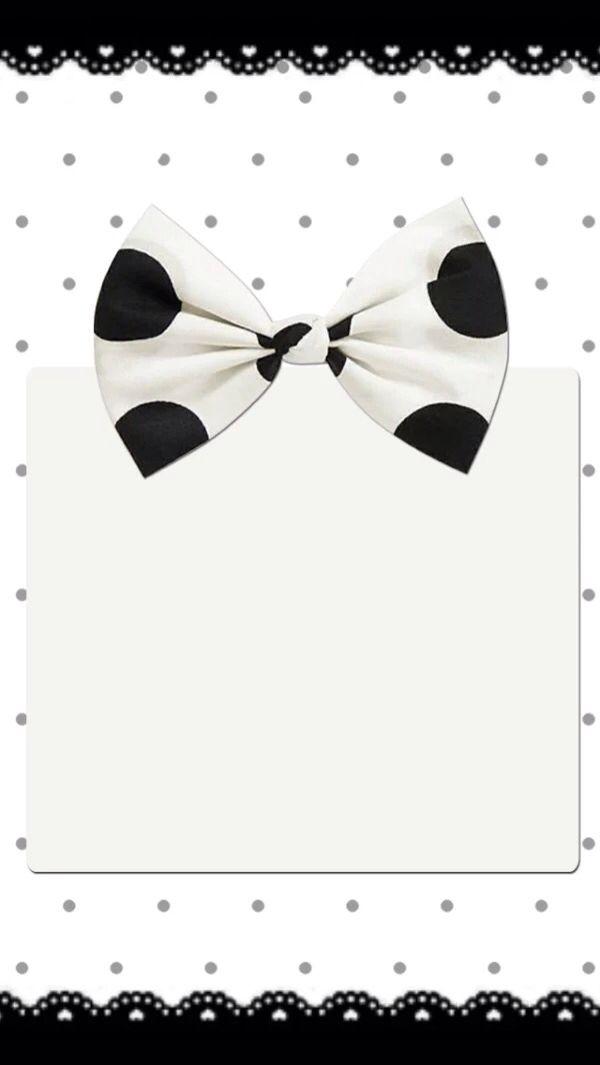 Cute Bow WallpaperBlack WallpaperCellphone WallpaperWallpaper PatternsIphone BackgroundsWallpaper BackgroundsIphone