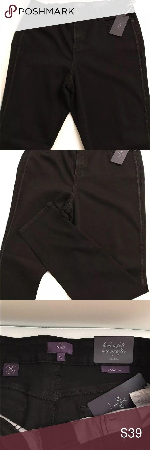 NYDJ women Jeans in black size 16 NYDJ Jeans women in black size 16 NYDJ Jeans