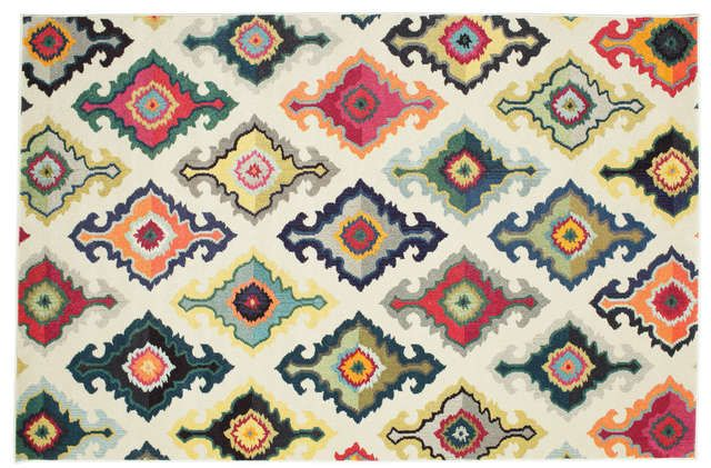 Cicero - Wit tapijt RVD8429