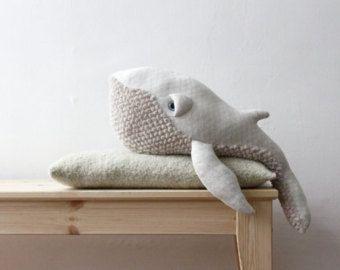 Long Tail Fish O Stuffed Animal O Bed Bumper by BigStuffed on Etsy